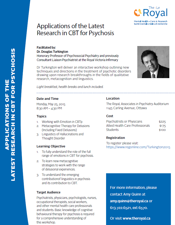 Applications of the Latest Reseach in CBT