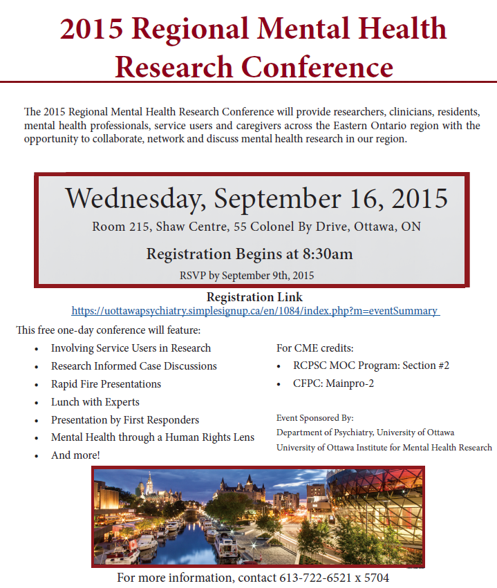 2015 Regional MH conference