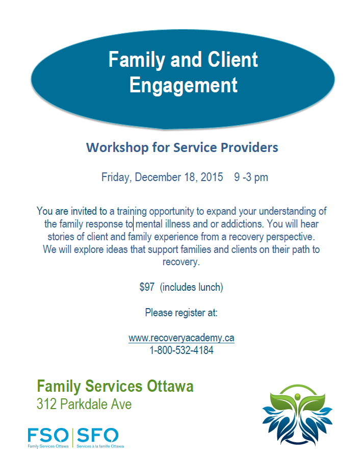 FSO Family  & Client Workshop