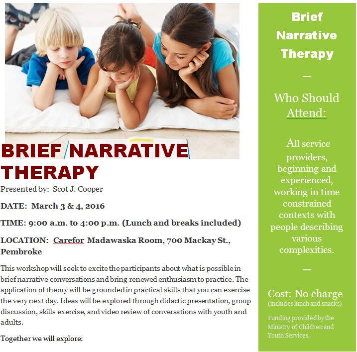 Narrative Therapy 1